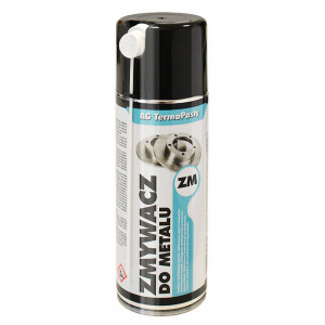 Metallic Elements Cleaner Aerosol TermoPasty Zmywacz 400ml Suitable for Metallic Surfaces 5901764327974