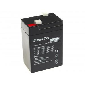 Μπαταρία για UPS Green Cell AGM (6V 4.5Ah) 0.74 kg 70mm x 47mm x 100mm 5902701411480