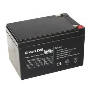 Μπαταρία για UPS Green Cell AGM (12V 12Ah) 3,4 kg 151mm x 98mm x 94mm 5902701411534