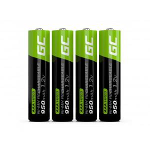 Μπαταρία Επαναφορτιζόμενη Green Cell 950 mAh size AAA  1.2V Τεμ. 4 5903317225836