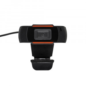 USB Webcam W11 Full HD 1920x1080  Μαύρo με Ενσωματωμένο Μικρόφωνο με USB Καλώδιο 150cm 5903933027005