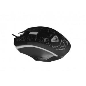 Ενσύρματο Ποντίκι Media-Tech COBRA PRO X-LIGHT MT1117 3 Πλήκτρων, Ροδέλα Κύλισης και Εναλλασσόμενο Φωτισμό Μαύρο 5906453111179
