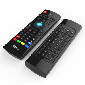 Πληκτρολόγιο και Τηλεχειριστήριο Wireless Media-Tech MT1422 3 σε 1 για Smartphone, Tablet, PC, SmartTV, TV Box Μαύρο 5906453114224