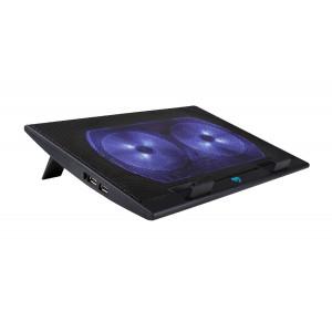 Laptop Cooler Media-Tech MT2659 Μαύρο για Φορητούς Υπολογιστές έως 17 5906453126593