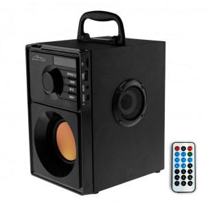 Φορητό Ηχείο Media-Tech Boombox BT 600W, με Τηλεχειριστήριο, Ενσωματωμένο Woofer, Micro SD Card, AUX, Ραδιόφωνο, MP3 και LED οθόνη 5906453131450
