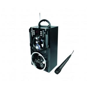 Φορητό Ηχείο Bluetooth Media-Tech Partybox BT MT3150 800W, με Τηλεχειριστήριο και LED Οθόνη Μαύρο 5906453131504
