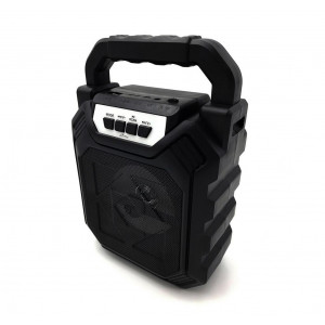 Φορητό Ηχείο Bluetooth Media-Tech Playbox Shake BT MT3164 280W, με Ενισχυμένη Αντικραδασμική Κατασκευή Μαύρο 5906453131641
