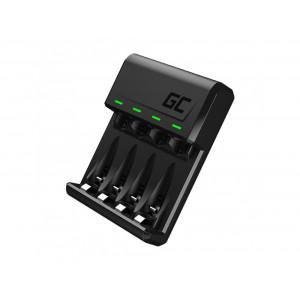 Φορτιστής Μπαταριών Green Cell GC VitalCharger για AA/AAA με Micro USB και USB-C 0.5W/1.5V/1.2A 5907813961328