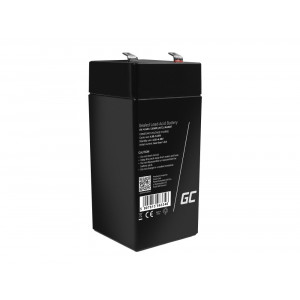 Μπαταρία για UPS Green Cell AGM VRLA (4V 4.5Ah) 0,5 kg 48mm x 48mm x 102mm 5907813963339