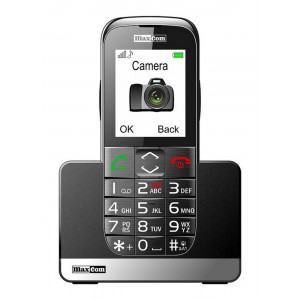 Maxcom MM720BB with Large Buttons, Bluetooth, Radio, Torch, Camera and Emergency Button Black 5908235972961