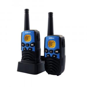 Walkie Talkie Maxcom WT207 Μαύρο - Μπλέ με Υποδοχή Hands Free  Εύρος Κάλυψης 5 km 5908235973173