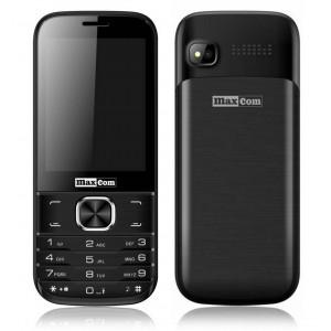 Maxcom MM237 (Dual Sim) with Camera, Bluetooth, Torch and FM Radio Black 5908235973241