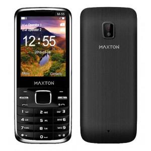 Maxton Classic M55 (Dual Sim) with Camera, Bluetooth, Torch and FM Radio Black 5908235973449