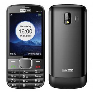 Maxcom MM320 with Camera, Bluetooth, Torch and FM Radio Black 5908235973692