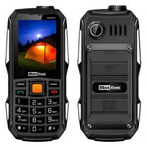 Maxcom Travel MM899 (Dual Sim) Power Bank 4000mAh with USB, Bluetooth, Torch, FM Radio and Camera Black 5908235973777
