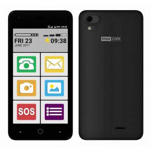 Maxcom MS514 FS (Dual Sim) LTE 5, Android 6.0, 1280*720 HD IPS Quad Core 1.25 GHz 1GB/8GB Μαύρο 5908235974057
