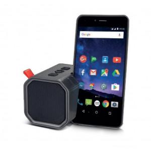 Φορητό Ηχείο Bluetooth Maxton Erebus MX 5W Γκρί με Ανοιχτή Ακρόαση, Audio-in, MicroSD και Βάση Στήριξης Κινητού 5908235974170