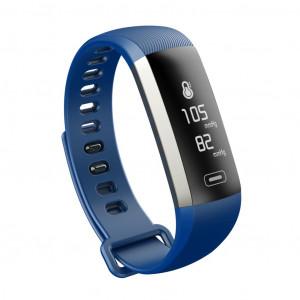 Maxcom Smartband FitGo FW11 Light IP67 Μαύρο Silicon Band. Επιπλέον Λουράκι Μπλε 5908235974187