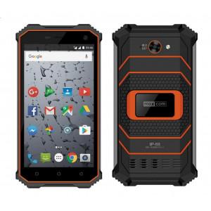 Maxcom Smart MS457 4G LTE (Dual Sim) Strong 5, IP68, Android 7.0, HD 1280*720 IPS Quad Core 1.3 GHz 2GB/16GB Πορτοκαλί 5908235974248