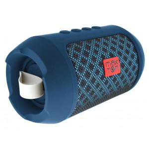 Φορητό Ηχείο Bluetooth Maxton Masaya MX116 3W Μπλέ με Ανοιχτή Ακρόαση, Audio-in, MicroSD και FM Radio 5908235974330