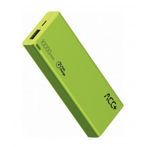Power Bank ACC+ THIN 10000 mAh Fast Charge Πράσινο 5908235974613