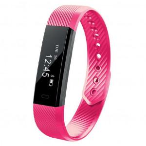 Maxcom Smartband FitGo FW10 Active IP55 Ροζ Silicon Band 5908235974644