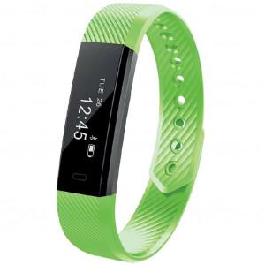 Maxcom Smartband FitGo FW10 Active IP55 Πράσινο Silicon Band 5908235974651