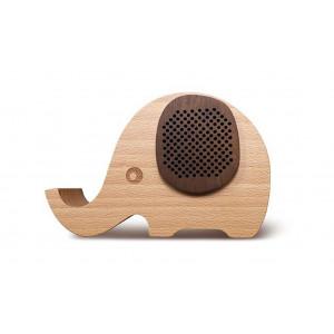 Φορητό Ηχείο Bluetooth Maxton MX30 3W Καφέ με Βάση Στήριξης Κινητού, Audio-in 5908235974743