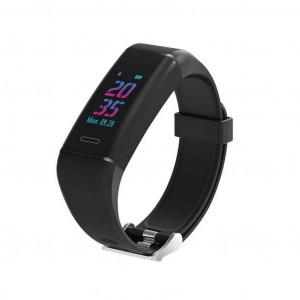 Maxcom Smartband FitGo FW13 Nitro IP67 Μαύρο Silicon Band 5908235974774