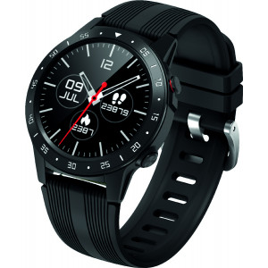 Maxcom Smartwatch FitGo FW37 Argon IP68 320mAh Μαύρο Silicon Band 5908235975900