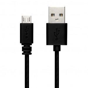 Καλώδιο σύνδεσης Snug USB σε Micro USB Μαύρο 1.2m 6008076049538