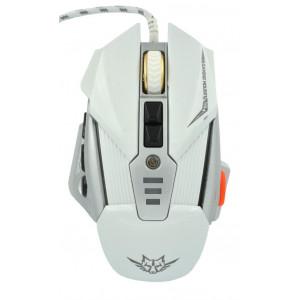 Ενσύρματο Ποντίκι Gaming Mouse Keywin Q9 Backlight 7 Πλήκτρων 3200 CPI Λευκό - Ασημί 6855564681882