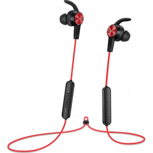 Bluetooth Hands Free Huawei AM61 Sport Lite Magnetic Κόκκινο με Noise Cancellation Half-in-ear 6901443192182