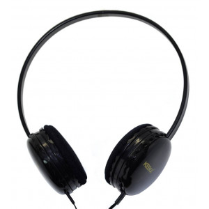 Stereo Headphones Keeka U-1 3.5 mm for Apple-Samsung-HTC-BlackBerry-LG Black 6921515602401