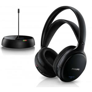 Philips Wireless Stereo Headphones SHC5200/10 Black for TV and HiFi Stereo 6923410732948