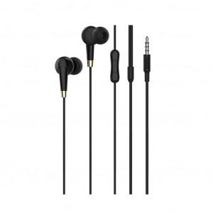 Hands Free Hoco M58 Amazing Earphones Stereo 3.5 mm Μαύρα με Μικρόφωνο και Πλήκτρο Λειτουργίας 6931474703781