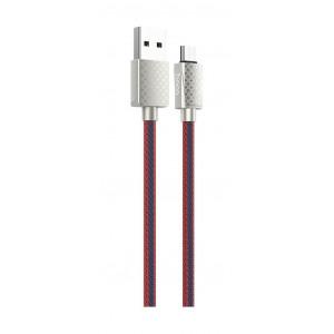 Καλώδιο σύνδεσης Hoco U61 Treasure USB σε Micro-USB Fast Charging 2.4A Κόκκινο LV 1.2μ 6931474705532
