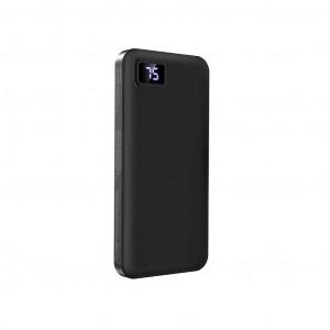Power Bank Borofone BT22 Intelligent 10000mAh Micro USB Input & Dual USB 5V/2A Output Fast Charging και ένδειξη LED Μαύρο 6931474705600
