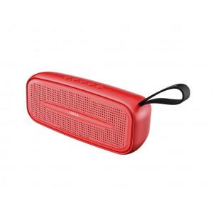 Φορητό Ηχείο Wireless Hoco BS28 Torrent Κόκκινο 2000mAh, 3W, TF Card και AUX Input 6931474706102