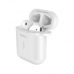 Θήκη Hoco CW22 Wireless Charging 5V/0.5A για Airpods Λευκή 6931474706584