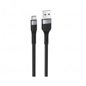 Καλώδιο σύνδεσης Hoco X34 Surpass USB σε Type-C Fast Charging 3.0A Μαύρο 1μ 6931474707390