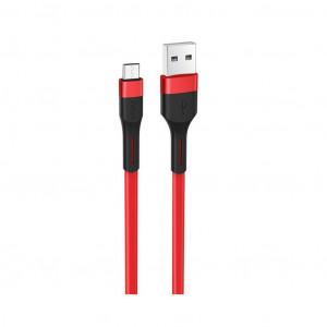 Καλώδιο σύνδεσης Hoco X34 Surpass USB σε Type-C Fast Charging 3.0A Κόκκινο 1μ 6931474707406