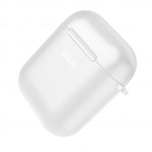 Θήκη Hoco Wireless TPU για Airpods 1/2 Διάφανη 6931474707642