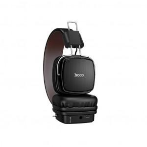 Wireless Ακουστικά Stereo Hoco W20 Gleeful Μαύρα με μικρόφωνο 6931474707987