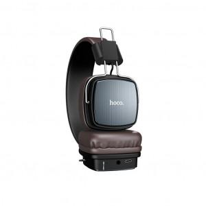 Wireless Ακουστικά Stereo Hoco W20 Gleeful Γκρι με μικρόφωνο 6931474707994