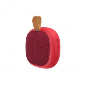 Φορητό Ηχείο Wireless Hoco BS31 Bright Sound Κόκκινο 500mAh, TF Card και AUX Input 6931474708588
