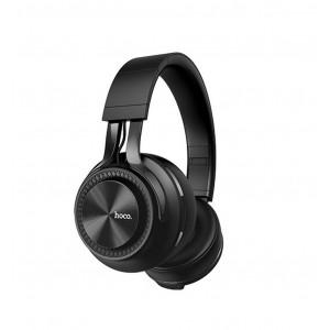 Wireless Ακουστικά Stereo Hoco W22 Talent Sound  Μαύρα με μικρόφωνο και καλώδιο 6931474709578