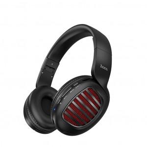 Wireless Ακουστικά Stereo Hoco W23 Brilliant  Μαύρα με μικρόφωνο και καλώδιο 6931474709608