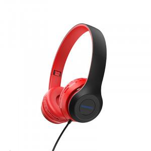 Ακουστικά Stereo Borofone BO5 Star sound 3.5mm Κόκκινα με Μικρόφωνο και Πλήκτρο Ελέγχου 6931474709929