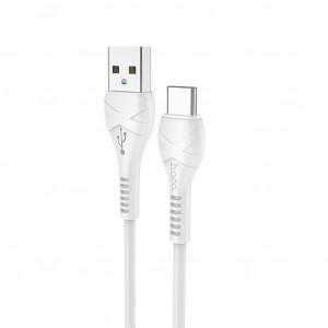 Καλώδιο σύνδεσης Hoco X37 Cool Power USB σε Type-C Fast Charging 3.0A Λευκό 1μ 6931474710512